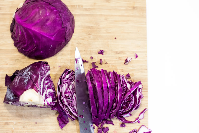 Hot & Spicy Pickled Cabbage - Down Right Raw